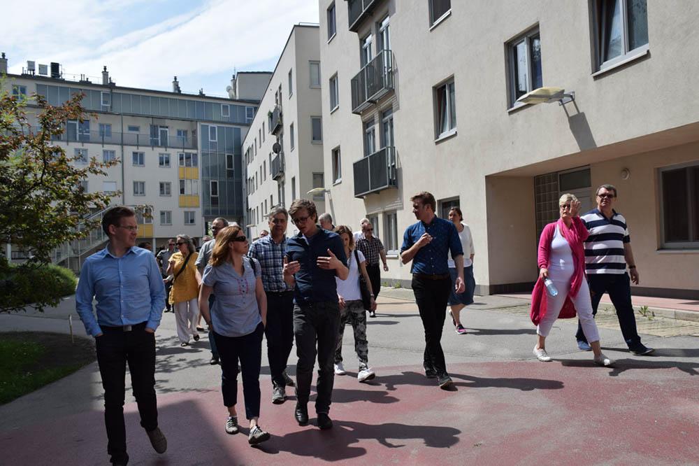 Besuch Der Schwedischen Mietervereinigung Wohnpartner